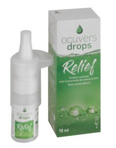 Ocuvers Relief Flasche und Packung f